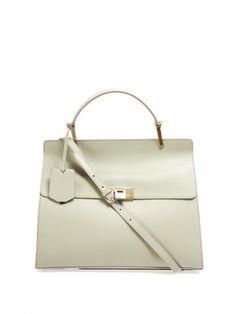 Le Dix Cartables leather tote bag | Balenciaga | MATCHESFASHIO...