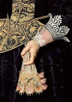 Traveling through history of Art...Portrait of a Young Woman, detail, by Nicolaes Eliasz Pickenoy, 1632.