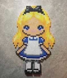 Alice perler beads by perlinthesprites_byliz