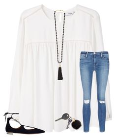 """""""mercy is #1 on iTunes!1!1 pic in items"""" by kari-luvs-u-2 ❤ liked on Polyvore featuring MANGO, Frame, Rosantica, Aquazzura, Furla and Cherokee"""