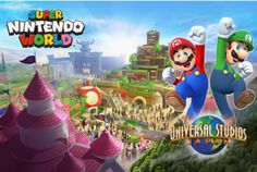 Universal Studios Reveals More About Mysterious New 'Nintendo Worlds' (UPDATED) | The Huffington Post