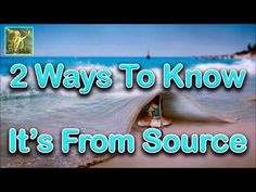 Abraham Hicks ~ Two ways to know if an impulse is from Source ~ No Ads During Video☑ - YouTube