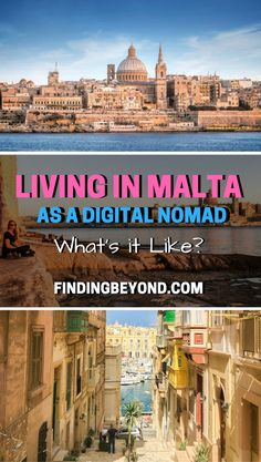Find out what it's like to be living in Malta as a Digital Nomad by reading our interview with big time travel bloggers Goats on the Road.   Digital Nomad tips   Digital Nomads Advice   How to make money while travelling   Living in Europe   Remote Working   Living abroad   Best of Malta   Malta tips   Become a Digital Nomad   Travel Bloggers   Travel in Europe   #travelblogger #travel #digitalnomad #expatlife #livingabroad