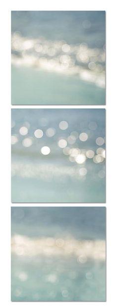 Nautical decor print set 16x16 ocean fine art by mylittlepixels