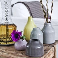 Botanica Mini Vase Grey Brown