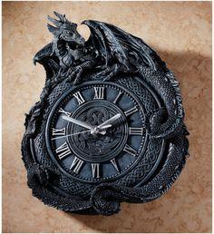 Penhurst Dragon Clock- En definitiva tendré uno como estos para mi señor hogar,
