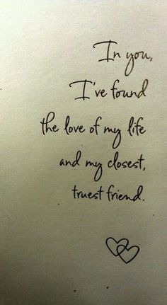 The Sweetest Love Quotes    My husband reiterates these words everyday!! NVD!❤️