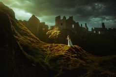 "Dunluce Castle - <a href=""http://www.tjdrysdale.com/finearttutorial""> Learn my editing techniques! </a>   In this 1hr tutorial, I'll discuss some of the tips and tricks I've discovered in Photoshop to give photos a cinematic/artistic feel! You won't be disappointed!    Model: Victoria Yore"
