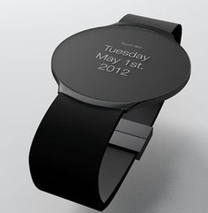 Futuristic tech gadgets watches Touch Skin OLED Watch Concept I dont know if its worth the money but it does look cool. Technology Gadgets, Tech Gadgets, Cool Watches, Watches For Men, Smartwatch, Inventions, Cool Stuff, Stuff To Buy, Concept