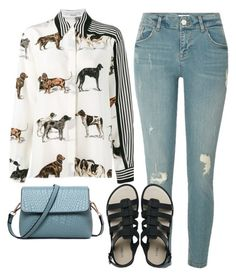 """""""Untitled #11645"""" by beatrizibelo ❤ liked on Polyvore featuring STELLA McCARTNEY, River Island and Melissa"""