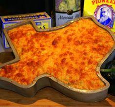 Texas Corn Bread Recipe ~ includes cheddar cheese, corn, pimiento, plus poblano and jalapeno chiles.