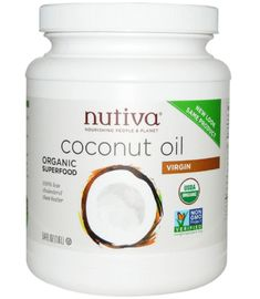 Nutiva Coconut Oil- 7 Best Coconut Oil Brands That You Can Trust Best Coconut Oil, Organic Superfoods, Organic Oil, Trust, Canning, Health, Top, Health Care, Salud