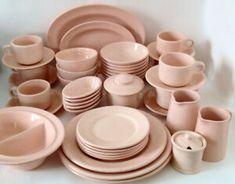 Antiquité1940 Porcelaine 44 pces Grindley Peach Petal Restaurant Tout Rose, Restaurant, Oeuvre D'art, Peach, Plates, Tableware, Soup Bowls, Deep Dish, Porcelain