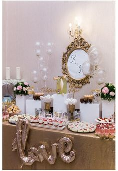 Candy, Table Decorations, Bar, Wedding, Furniture, Food, Home Decor, Valentines Day Weddings, Decoration Home