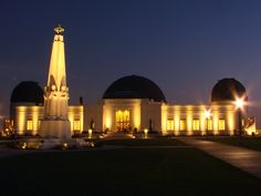Stargaze at Griffith Observatory  California Trip