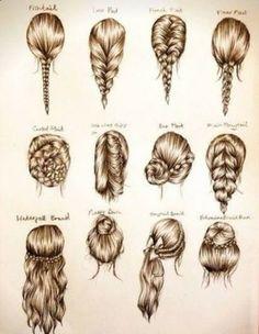 Pretty #hair #braid