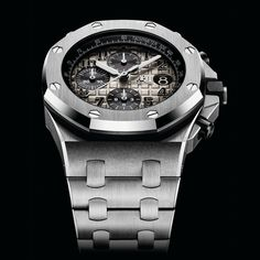 Audemars Piguet Royal Oak Offshore - platinum - 26470PT - Perpetuelle