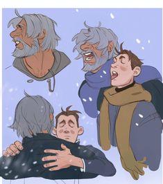 Tasting snow, eh
