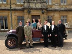 Downton Abbey Season 4!!!!!! I think I see three or four new characters.