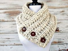 Instant Download Crochet PATTERN PDF  Crochet Cowl by pixiebell