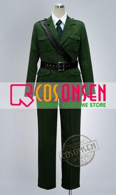 Hetalia England Cosplay Costume