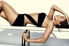 Jennifer Lopez Vogue Swimsuit