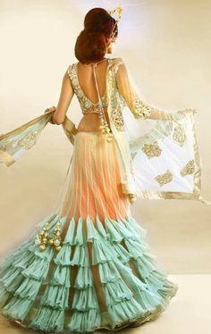 Indian Reception dress!!