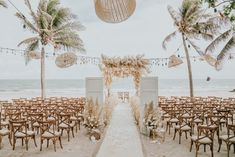 This Beachy Boho Wedding at Sanctuary Ho Tram is Like a Royal Mermaid Affair (Junebug Weddings) Marie's Wedding, Boho Beach Wedding, Hipster Wedding, Beach Wedding Inspiration, Wedding Events, Wedding Ceremony, Dream Wedding, Wedding Dreams, Mermaid Wedding
