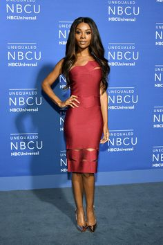 Zuri Hall attends the 2017 NBCUniversal Upfront at Radio City Music Hall on May 15, 2017 in New York City.