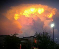 Odd clouds over HIs restaurant. Restaurant, Clouds, Celestial, Sunset, Outdoor, Inspiration, Outdoors, Biblical Inspiration, Diner Restaurant