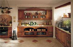 Kuchyně z masivu TRONIUSZ