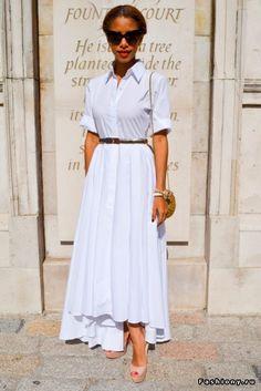 Блуза или рубашка белого цвета