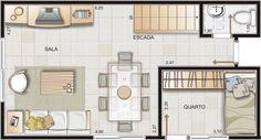 Plantas de Casas: Modelos, Projetos, Planta Baixa (Mais de 50 modelos de plantas para baixar)