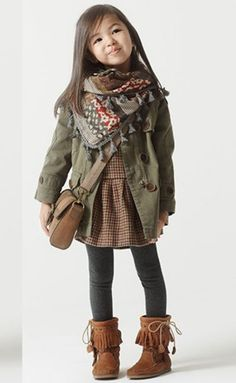 Little Girl Outfit Ideas 2014 | Modern and Adorable Little Girl Winter Outfits Ideas 2014 5 10 years ...