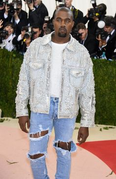 Pin for Later: Feast Your Eyes on All the Handsome Celebrity Guys at the Met Gala Kanye West