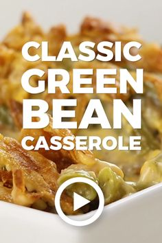 Classic Green Bean Casserole by The Cookie Rookie. This easy healthy recipe shou… Classic Green Bean Casserole by The Cookie Rookie. This easy healthy recipe shou…,Best Recipe Videos – Video Pins Classic Green Bean. Air Fryer Recipes Appetizers, Air Fryer Recipes Vegetarian, Air Fryer Recipes Low Carb, Air Fryer Recipes Breakfast, Easy Healthy Recipes, Easy Meals, Cooking Recipes, Cooking Tips, Easy Cooking