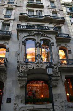 Modernisme (Art Nouveau) Hotel el Palauet (1906), Barcelona (SP) architect: Peter Falques