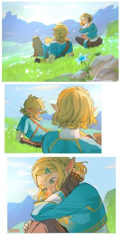 @viria13 on Twitter The Legend Of Zelda, Legend Of Zelda Memes, Legend Of Zelda Breath, Fanarts Anime, Anime Characters, Fictional Characters, Zelda Drawing, Image Zelda, Princesa Zelda