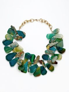 Loving this green agate!