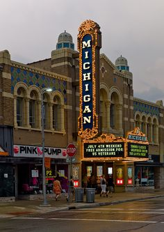 Michigan Theater is Ann Arbor's non-profit center for fine film and the performing arts. Lovingly restored to replicate its original look dating back to the silent film era, Michigan theater is home to independent films, The Ann Arbor Symphony Orchestra, and a venue to hold special events such as weddings.