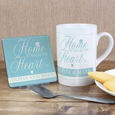 Home Is...Mug & Coaster Set
