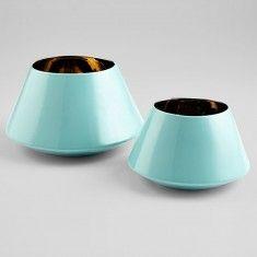 Cyan Cleo Vase