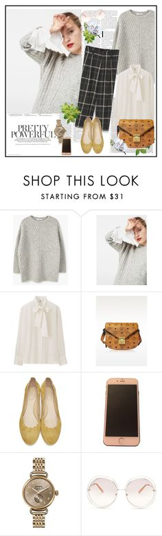 """""""Fall 2016♥♥♥"""" by marthalux ❤ liked on Polyvore featuring Uniqlo, MCM, Shinola, Chloé, Victoria Beckham, StreetStyle, fallstyle, falltrend and fallwinter2016"""