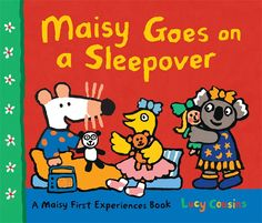 Tallulah is having a sleepover, and Maisy is invited. So is Tallulah's new friend, Ella. Every moment is packed with fun as the friends talk, dance, giggle, and play together. After a tasty supper and lots of games, all three get ready for bed, and Maisy reads a story. Is everyone finally tired? HC 9780763658830 / Ages 2-5 yrs