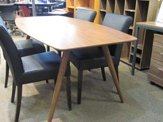 Beckett dining table in Walnut.  Was $999  Now $799