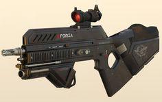 Assault rifle concept by KeithManeri on deviantART