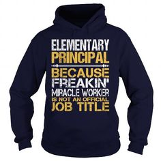 Awesome Tee For Elementary Principal T Shirts, Hoodie. Shopping Online Now ==►…