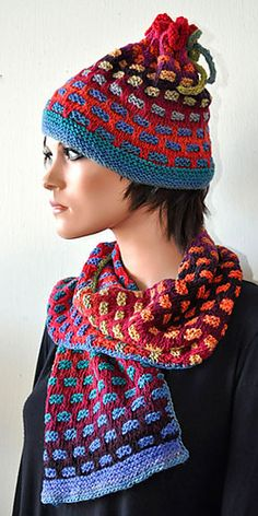 Ravelry: Passing Colors Hat pattern by Joanne Cole