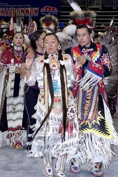 "Dance and Performance Art, Native American Powwow, 2005, ""Powwows are large social gatherings of Native Americans who follow traditional dances started centuries ago by their ancestors, and which continually evolve to include contemporary aspects.  During the National Powwow, the audience see dancers in full regalia compete in several dance categories."" narrative from website"
