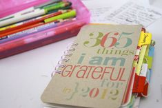 Crafty Ways to Document Your Year